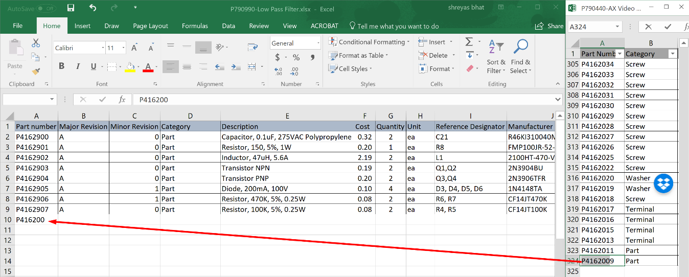 6 points to consider before managing your next BOM in Excel